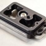 Arca-Swiss Schnellwechselplatte von Kirk für die Nikon D7000