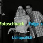 Fotoschnack 10 – Spezial Blitzen – Portraits fotografieren wie im Studio
