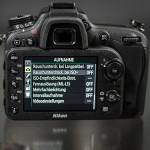 Nikon D7100 und D7000 – Sinnvolle Voreinstellungen und Grundeinstellungen der Kamera