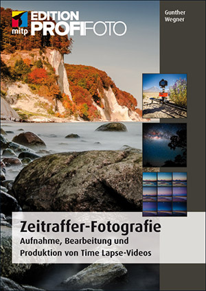 Cover Gunther Wegner Buch Zeitraffer