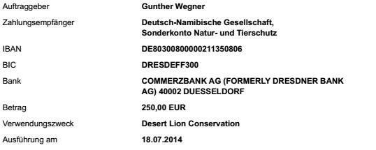 2014-07 Spende Desert Lion