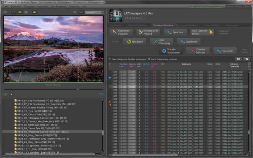 LRTimelapse Screen_DE