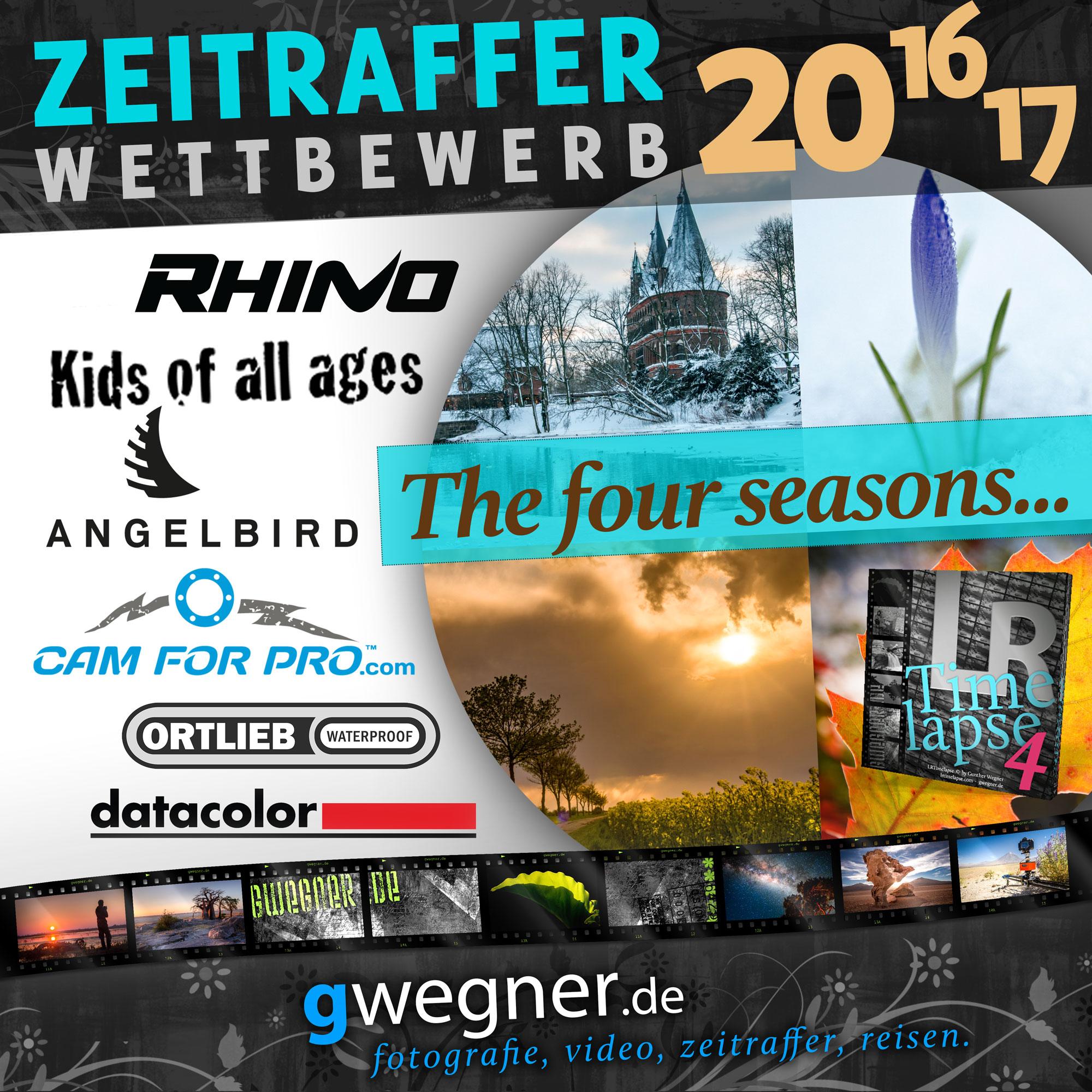 Zeitraffer Wettbewerb 2016/2017 - gwegner.de