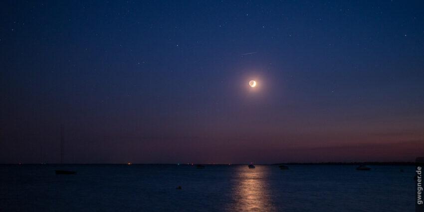 Mond und Sterne mit der D500