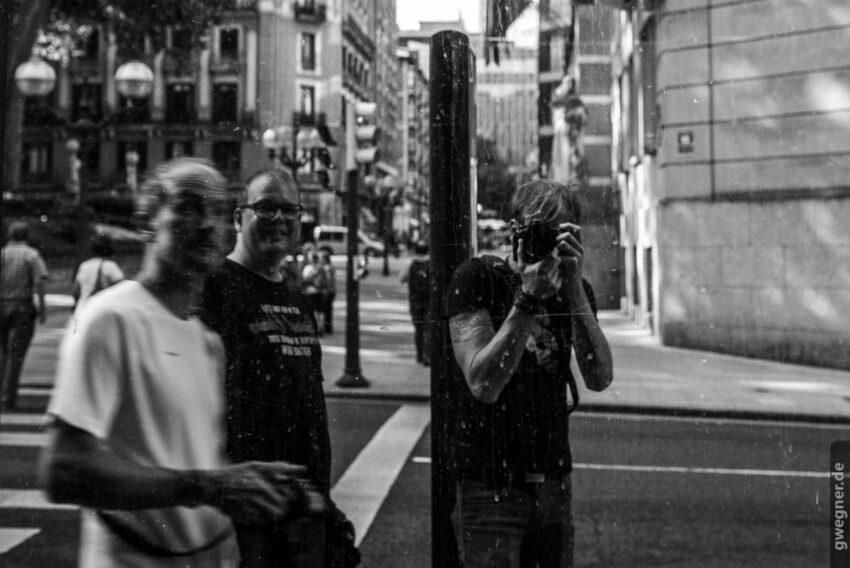 Selfie mit Thomas und Andreas