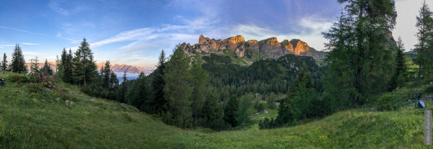 Wunderbare Landschaften, nicht nur bei Sonnenaufgang (Foto: Maren)