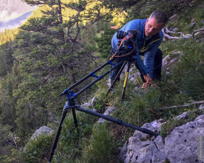 Abenteuerliche Setups... (Foto: Maren)