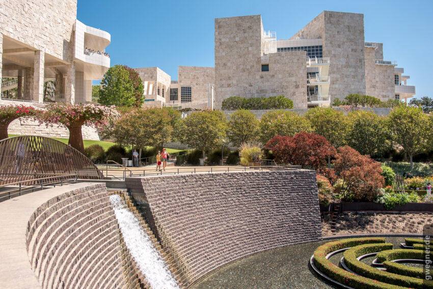Das Paul Getty Museum in Los Angeles