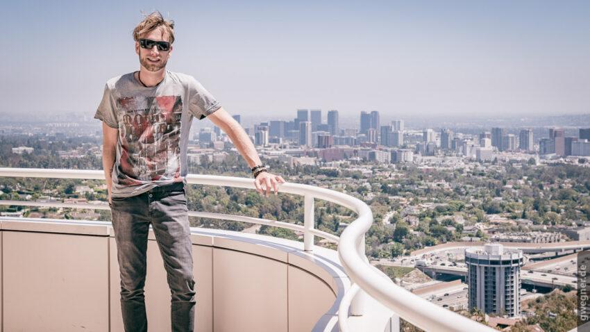 ...und immer wieder tolle Aussichten auf Los Angeles