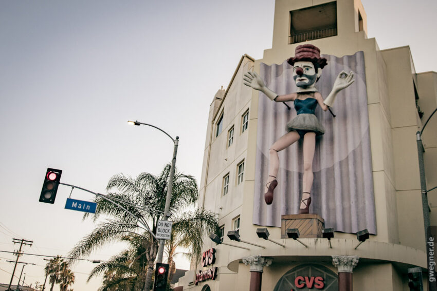 Clowneria in Venice - u.a. bekannt aus dem Trailer von Californication