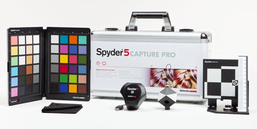 Spyder 5 Capture Pro Kalibrierungsset