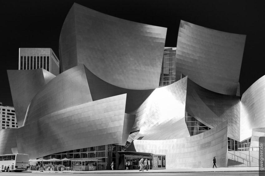 Die Disney Concert Hall in Downtown LA