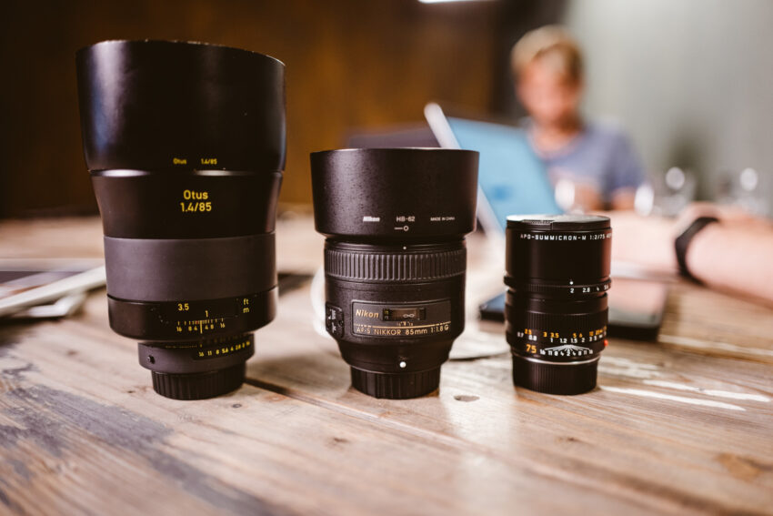 85 mm Objektive