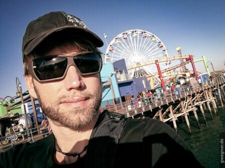 Smartphone Selfie des Fotografen