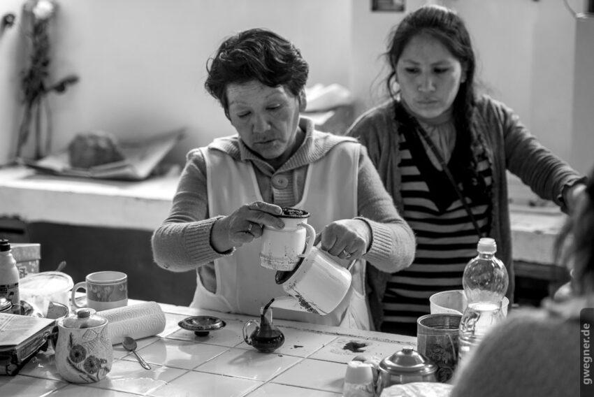 Kaffee auf Peruanisch