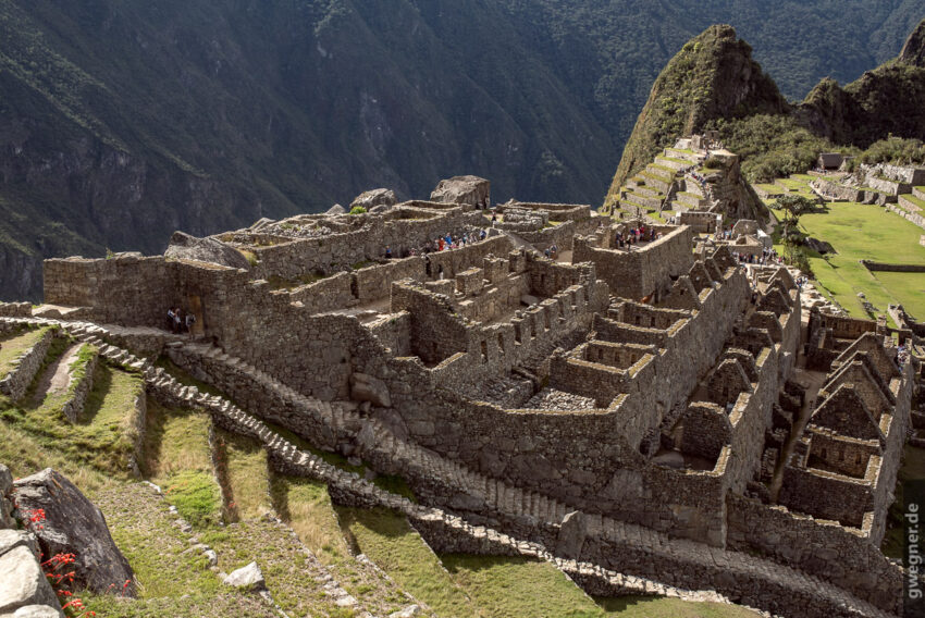 Machu Picchu - mal nicht die typische Ansicht.