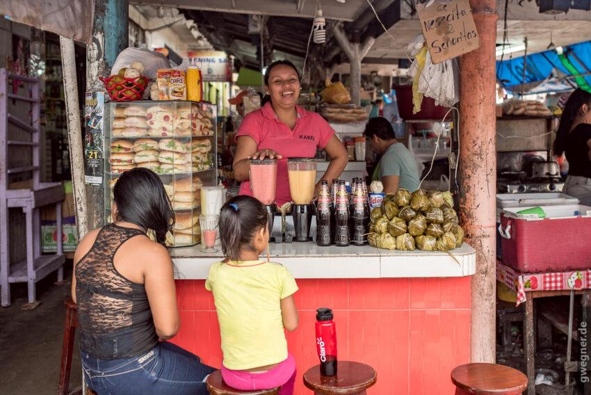 Auf dem Markt in Iquitos