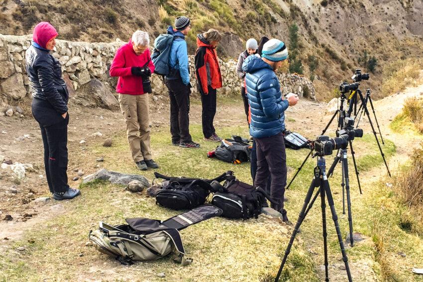 Morgendliches Zeitraffer Shooting, Foto: Andrea Dublaski