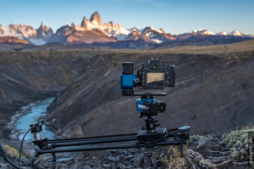 Nic-O-Tilt Pan-Tilt Kamera Drehkopf in Patagonien