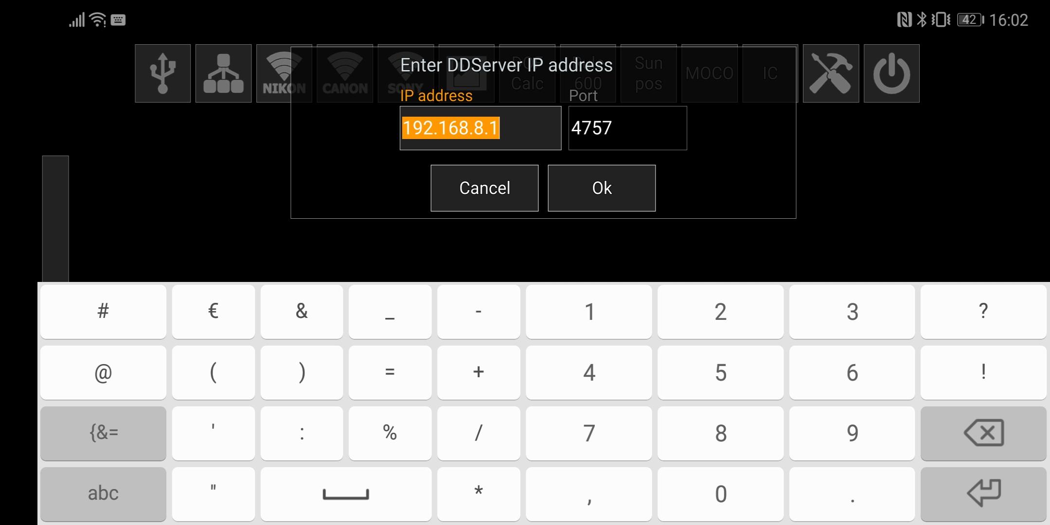 Die IP Adresse Des Routers Eingeben 19216881 OK Drucken Einstellung Der Muss Nur Beim Ersten Mal Erfolgen Danach Merk QDDB Sie Sich