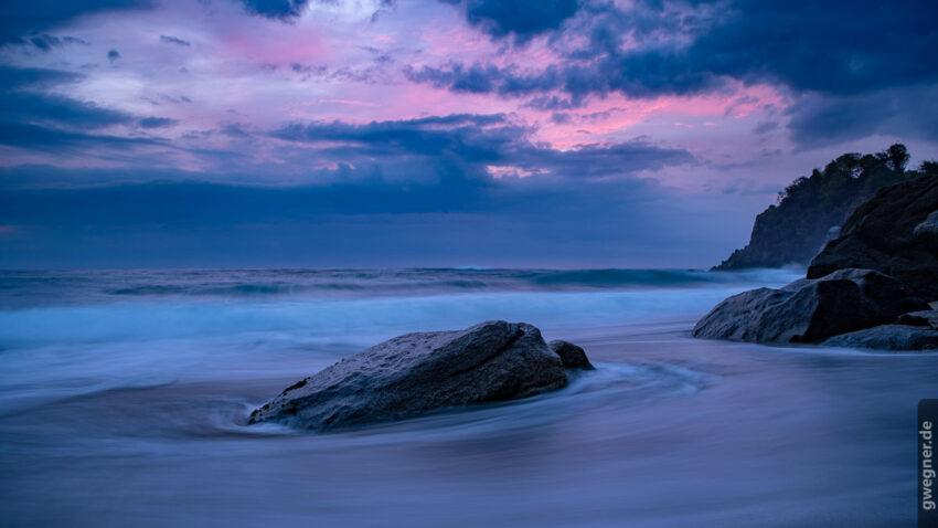 Sonnenaufgang Nationalpark Tyrona