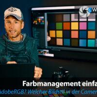 sRGB oder Adobe RGB in der Kamera einstellen? Und welchen Bildstil?