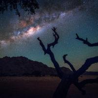 Nun sind alle Lichter aus - über uns nur noch die wunderbare Milchstraße Afrikas