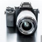 Die Sony A7 mit dem Kit-Objektiv