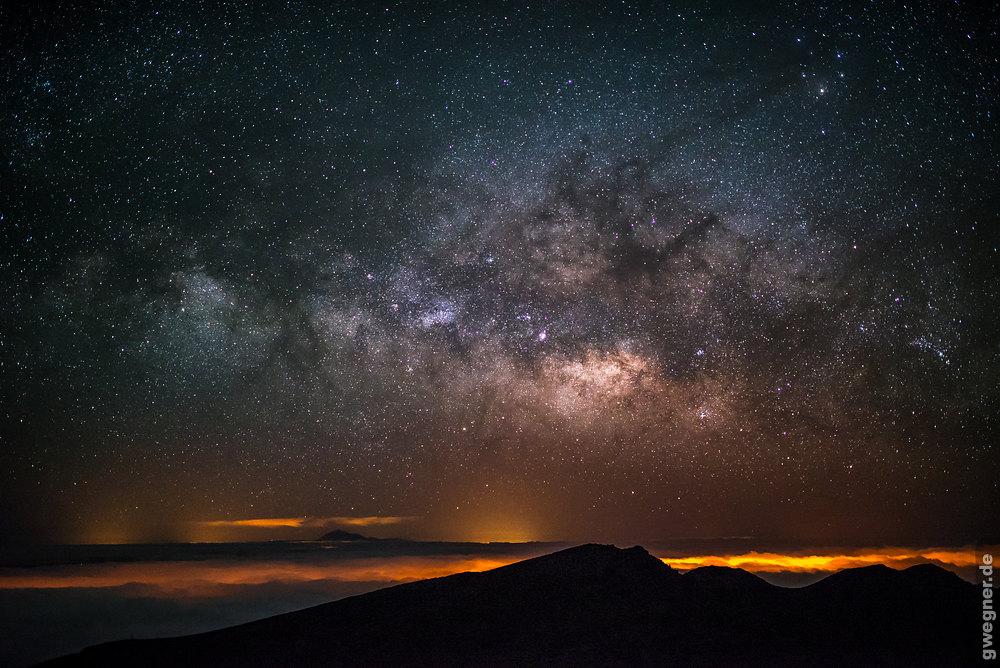 Fotos Und Zeitraffer Von Sternen Und Der Milchstrasse