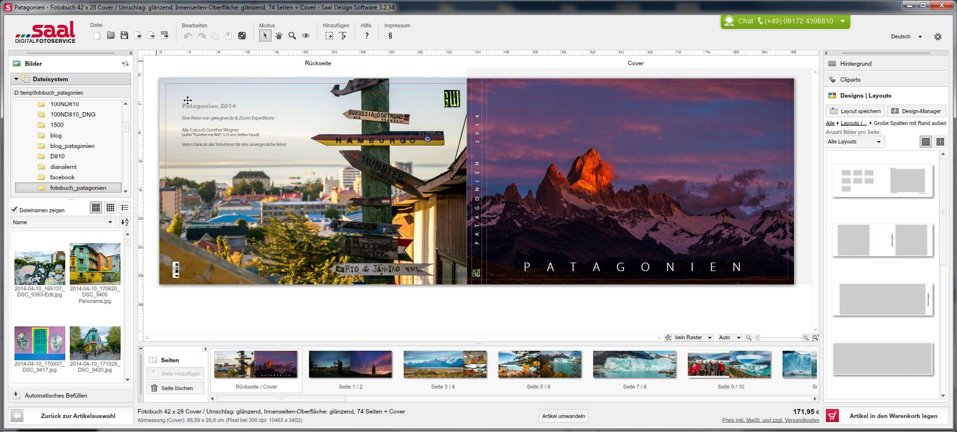 Ein Panorama-Fotobuch erstellen - Lightroom vs. Saal Digital ...