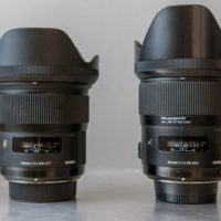 Sigma 24 f/1.4 Art vs. 35 f/1.4 Art