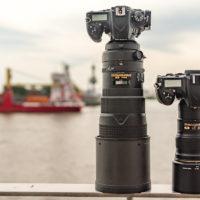 Nikkor 300 f/2.8 VRII vs. Nikkor 300 f/4 PF VR - beide an der D750