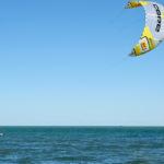 Kiten ist nur ausserhalb des NSG erlaubt.