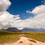 Mount Kukenán und Mount Roraima in der Gran Sabana, Venezuela