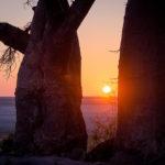 Sonnenaufgang vor Kubu-Island