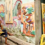 Künstlerin in Salvador