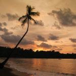 Sunset in der Drake Bay - fast unwirklich