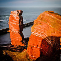 Wahrzeichen Helgolands: Die Lange Anna