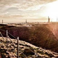 Inselpanorama, links die Düne (Foto: Diana)