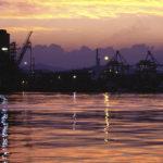 Hafen von la Specia, Italien