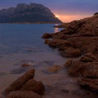 Die Isola Tavolara im Morgengrauen