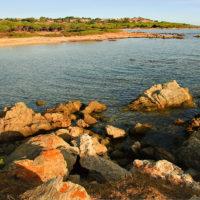 Ost-Sardinien. Im Hintergrund die Tavolara