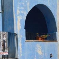 Malerische Häuser in Posada
