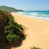 Traumstrand an der Costa Verde