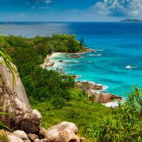 Traumbucht auf Courieuse Island