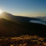 El Teide im wunderbaren Gegenlicht