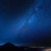 Milky way over Teide