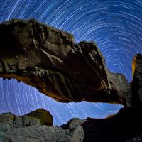 Startrails - Sternenspuren