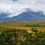 Der Mount Kukenán, der Nachbar-Tepui vom Roraima