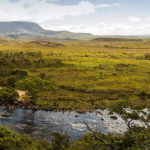 Panorama des Kukenán Flusses